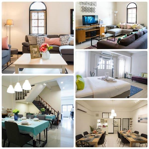 Airbnb ở Bangkok, căn hộ 5 phòng ngủ của Neveu Premier Residence