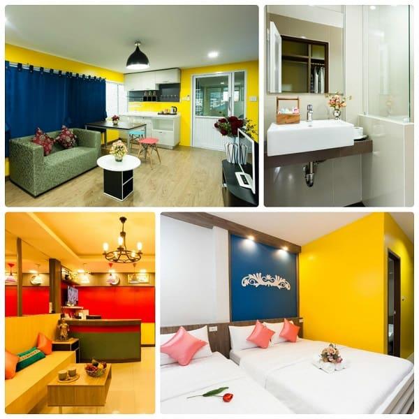 Đặt airbnb ở Bangkok, thuê airb ở Le Clarita
