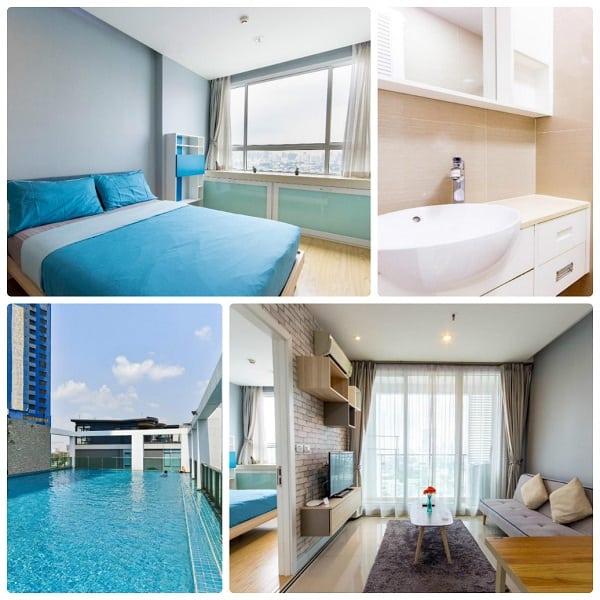 Airbnb ở Bangkok cho 2 người, airbnb của SENSE OF SWEET