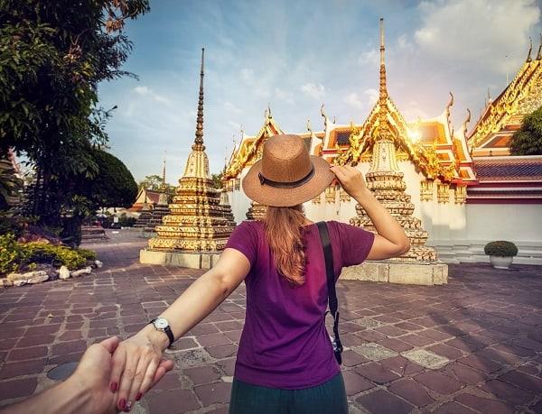 Đi tuần trăng mật ở Thái Lan, nghỉ tuần trăng mật ở Bangkok