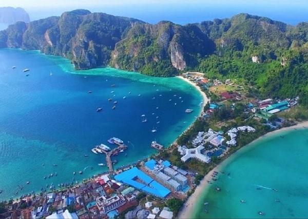 Koh Phi Phi, địa điểm đi tuần trăng mật ở Thái Lan tốt nhất