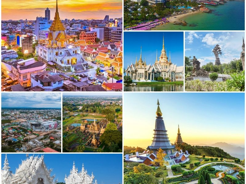 Những thành phố du lịch của Thái Lan đẹp nhất, nổi tiếng Nhất