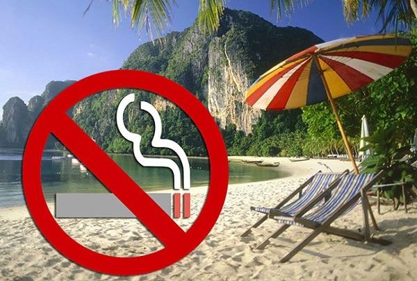 Thái Lan có cấm hút thuốc lá không? Những bãi biển ở Thái Lan cấm hút thuốc lá