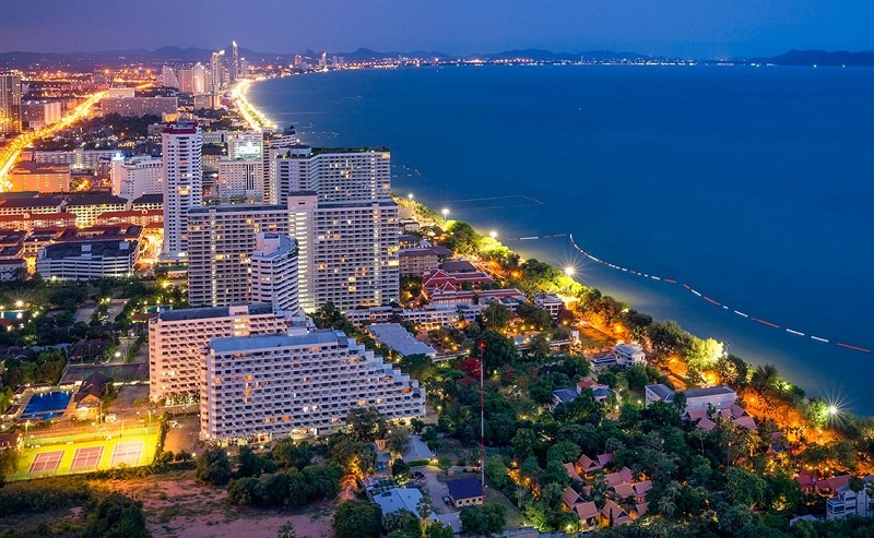 Thành phố du lịch của Thái Lan, thành phố biển Pattaya