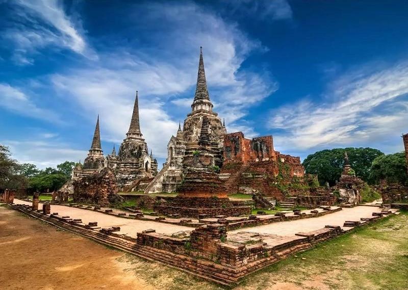 Thành phố du lịch của Thái Lan, cố đô lịch sử Ayutthaya