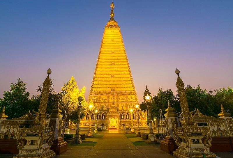 Thành phố du lịch của Thái Lan, Ubon Ratchathani, chùa Wat Nong Bua