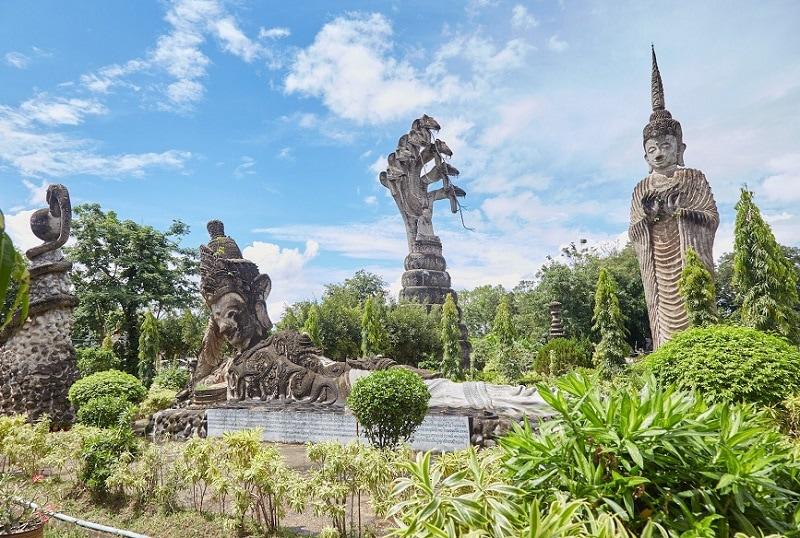 Nong Khai, một tỏng những thành phố du lịch đẹp nhất ở Thái Lan