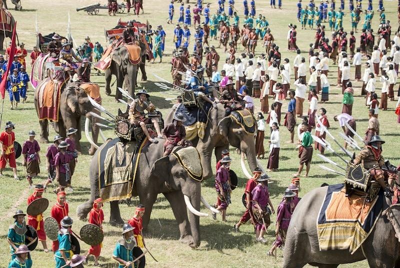 Thành phố du lịch của Thái Lan, thành phố voi Surin