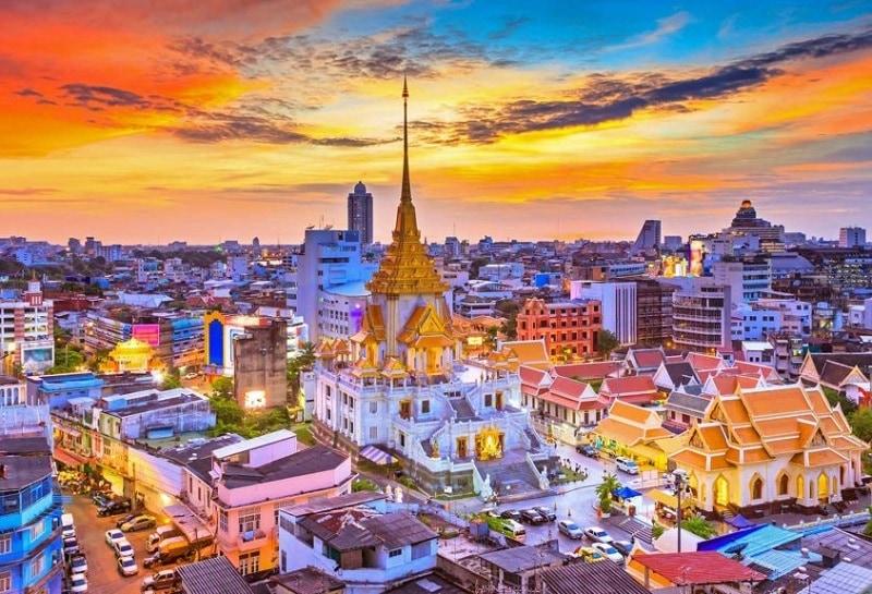 Thành phố du lịch của Thái Lan, thủ đô Bangkok