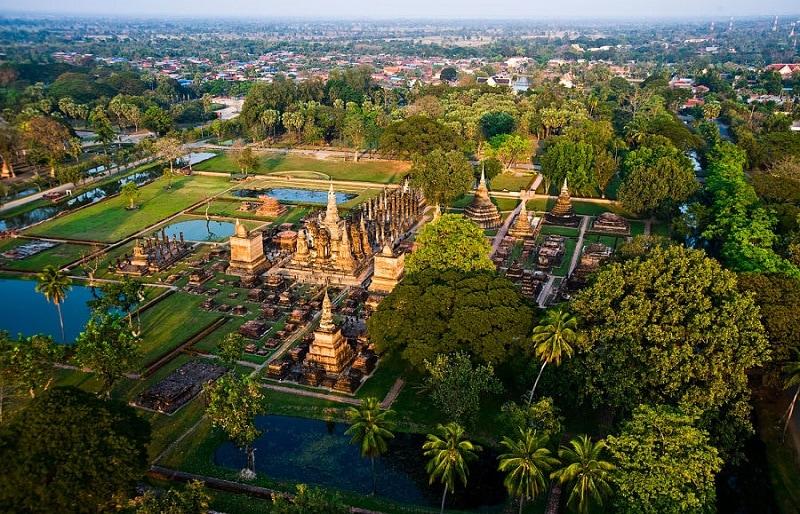 Thành phố du lịch của Thái Lan, Thành phố lịch sử Sukhothai