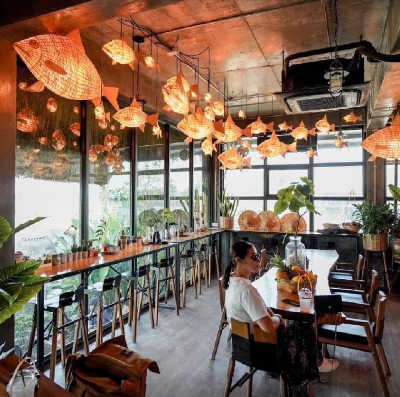 Top 5 quán cafe ở Kanchanaburi view đẹp. MEENA Cafe. Quán cafe ngon ở Kanchanaburi